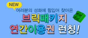 브릭패키지연간이용권 런칭♡