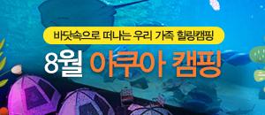 8월 아쿠아 캠핑