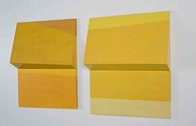 이영림 ㅣ 접힌 노랑(평평한, 나눠진, 수평의 1. 2)