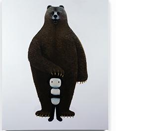 16 박상혁, 안녕, 인간, 2017, 캔버스에 아크릴, 162x131cm