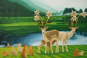 06 정성원, Antic and Utopia, 2015, 캔버스에 유채, 112×163cm