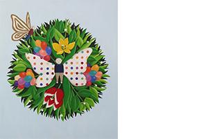 08 안윤모, 나비가 되다, 2014, 캔버스에 아크릴, 53x45cm